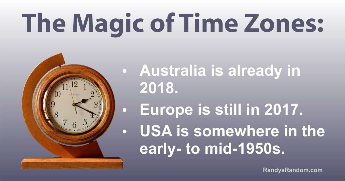 The Magic of Time Zones - Randy\'s Random